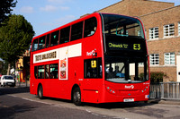 Route E3, First London, DN33596, SN09CFL, Northfields