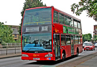 Route 651, Go Ahead London 896, P059KFY, Romford