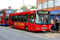 Route 303, Arriva The Shires 3705, YJ06LFF, Colindale