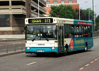 Route 373, Arriva Southend 3389, P259FPK, Romford