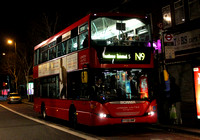 Route N9, London United RATP, SP50, YT09BNF, Hounslow