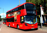 Route 119, Go Ahead London, WHV71, BF65WJG, Bromley