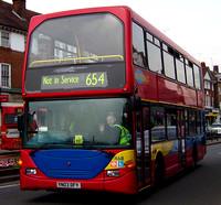 London Bus Routes Route 654 Addington Village Ramsden
