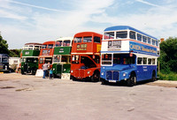 North Weald Bus Rally 1995