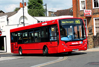 Route 190, Metroline, DE1004, LK09ENT, Richmond