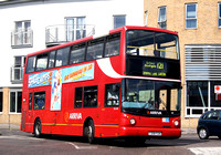 Route 121, Arriva London, DLA118, T318FGN, Ponders End