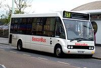 Route 15X, Beacon Bus, MX54WMC, Bideford