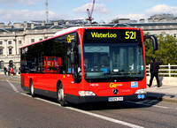 Route 521, Go Ahead London, MEC30, BD09ZVV, Waterloo