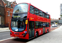 Route EL1, Go Ahead London, WVL446, LJ61GWE, Ilford