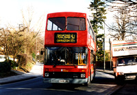 Route 51, London Central, NV18, N418JBV, Orpington