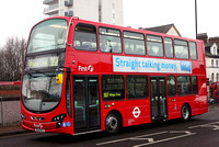 Route 357, First London, VN37947, BL61ACZ, Walthamstow