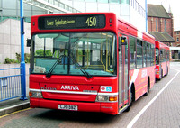 Route 450, Arriva London, PDL56, LJ51DBX, Croydon