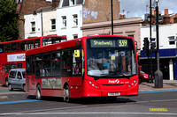 Route 339, First London, DM44169, YX60DXO, Mile End