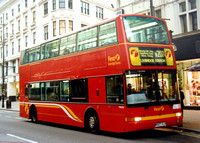 Route N207, First Uxbridge Buses, TNL927, W927VLN, Oxford Street
