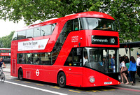 Route 10, London United RATP, LT167, LTZ1167, Hyde Park Corner