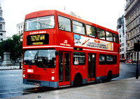 Route N14, London General, M1302, B302WUL, Trafalgar Square