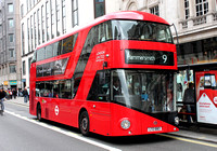 Route 9, London United RATP, LT83, LTZ1083, The Strand