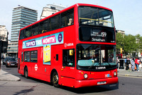 Route 159, Arriva London, VLA105, LJ05BKZ, Trafalgar Square