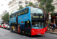 Route 94, London United RATP, ADH15, SN60BYL, Bond Street Station