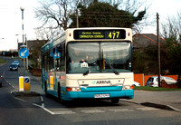 Route 477, Arriva Kent Thameside 3263, R263EKO, Dartford
