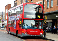 Route 71, London United RATP, SLE15, YN55NHJ, Kingston