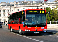 Route 521, Go Ahead London, MEC33, BD09ZVY, Waterloo