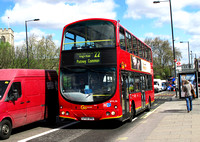 Route 22, Go Ahead London, WVL36, LF52ZRU, Putney Bridge