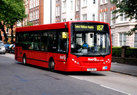 Route 187, First London, DML44100, YX09AEV, St John's Wood