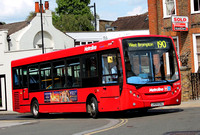 Route 190, Metroline, DE1005, LK09ENU, Richmond