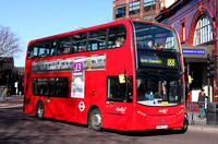 Route 188, Abellio London 2406, SN61DFX, Elephant & Castle