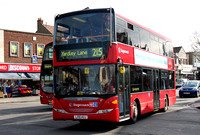Route 215, Stagecoach London 15174, LX10AUJ, Chingford Mount