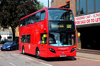 Route 120, London United RATP, ADE8, YX12FNO