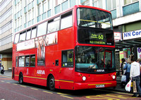Route 60, Arriva London, DLA185, W385VGJ, Croydon