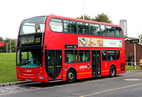 Route 135, Arriva London, T16, LJ08CVM, Crossharbour ASDA