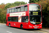 Route 150, East Thames Buses, VWL24, LF52THK, Chigwell Row