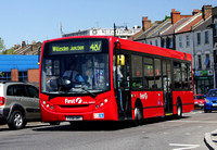 Route 487, First London, DML44042, YX58DWY, Willesden Junction