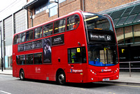 Route 61, Stagecoach London 19139, LX56EAY, Bromley