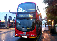 Route N68, London Central, WVL272, LX06ECF, Old Coulsdon