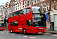 Route 102, Arriva London, T1, LJ08CVS, Golders Green