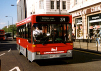 Route 274, London Northern, DRL23, K823NKH, Marble Arch