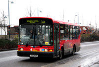 Route 244, London Central, DMS6, T106KGP, Woolwich