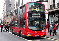 Route 87, Go Ahead London, WVL2, LG02KGU, The Strand