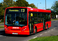 Route T31, Arriva London, ENL1, LJ07ECW, Addington Village