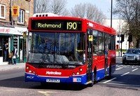 Route 190, Metroline, DM962, LK09EKJ, Richmond