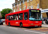 Route 289, Arriva London, DWL1, Y801DGT, Croydon
