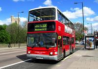 Route 220, London United RATP, VA311, SK52USL, Putney Bridge