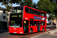 Route E3, First London, DN33582, SN09CEJ, Hanwell
