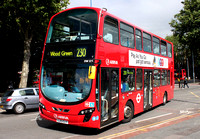 Route 230, Arriva London, DW538, LJ13CLY, Walthamstow Central