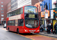 Route 129, East Thames Buses, VWL29, LF52THG, Ilford