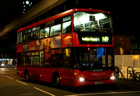 Route N9, London United RATP, SP49, YT09BNE, Hammersmith